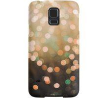 firework bokeh Samsung Galaxy Case/Skin