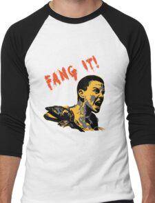 Fang It Men's Baseball ¾ T-Shirt