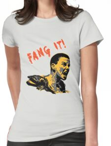 Fang It Womens Fitted T-Shirt
