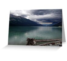 Moods of Mountain Weather Greeting Card