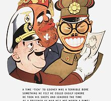 Be Sure You Have Correct Time -- WW2 Propaganda by warishellstore