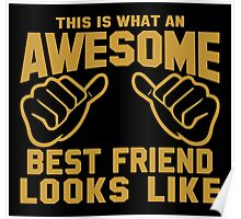 This is What an Awesome Best Friend Looks Like Poster