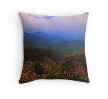 AUTUMN,BLUE RIDGE MOUNTAINS Throw Pillow