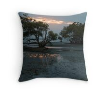 Fire from above and below Throw Pillow
