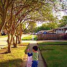 Strolling His Sister by Wanda Raines