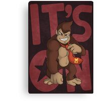 It's on like Donkey Kong! Canvas Print