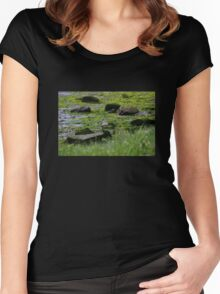 Mossy Shore Women's Fitted Scoop T-Shirt