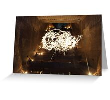 Great Staircase alight! Greeting Card