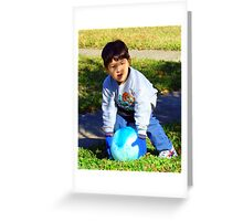 Let Play Ball Greeting Card
