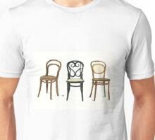 Thonet Chairs - Watercolor Painting Unisex T-Shirt
