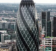 The Gherkin (30 St. Mary Axe), London, United Kingdom by jmhdezhdez