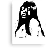 R.I.P Aaliyah Canvas Print