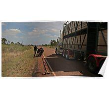 Road Train Poster