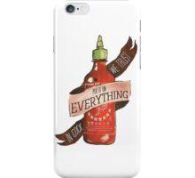 Sriracha iPhone Case/Skin