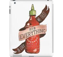 Sriracha iPad Case/Skin