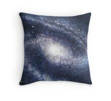 Barred Spiral Galaxy NGC 1300 Throw Pillow