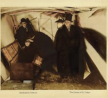 Cabinet of Doctor Caligari Lobby Card by pigeonboycas