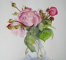 Old roses by Beatrice Cloake Pasquier