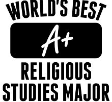 World's Best Religious Studies Major by GiftIdea