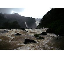 Iguassu Falls - Brazilian view Photographic Print