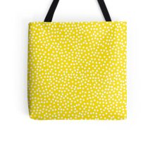 Classic baby polka dots in yellow. Tote Bag