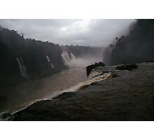 Iguassu Falls - Brazilian side Photographic Print