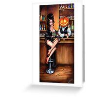 Happy Hour - Halloween Greeting Card