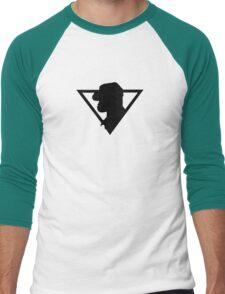 Dino-Riders Logo Men's Baseball ¾ T-Shirt