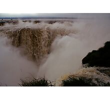Iguassu Falls - Devil's Throat - Argentinian side Photographic Print