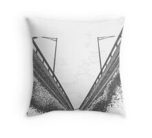 Under the Freeway (3) Throw Pillow
