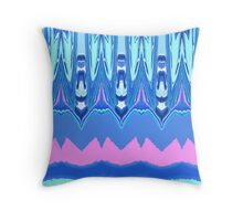 Calligraphy Pen- Pastel Throw Pillow