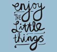 Enjoy The Little Things Kids Clothes