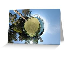 Planet Sydney Greeting Card