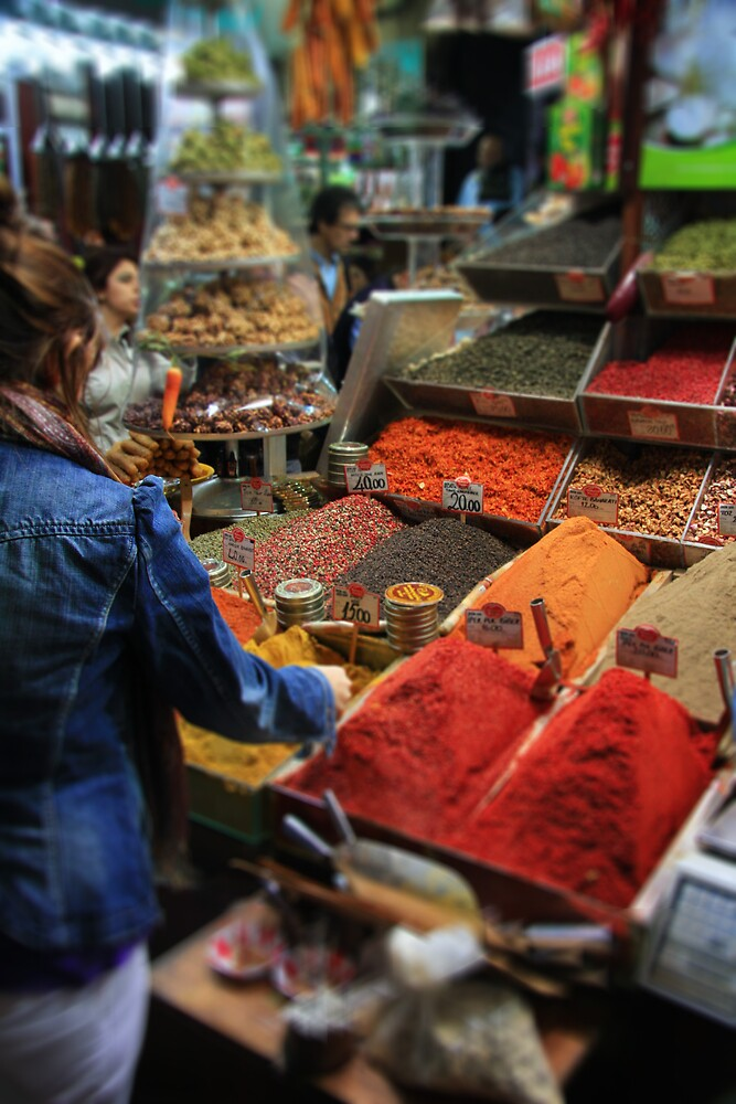 Spice Bazaar, Istanbul by Gavin Craig
