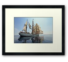 Backlit Europa Framed Print