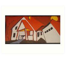 One Morton Place - Now GONE! Art Print