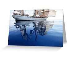 Europa's Reflections Greeting Card