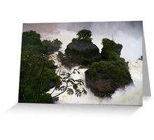 Iguassu Falls - Argentinian view Greeting Card