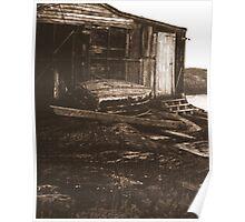shed, nova scotia Poster