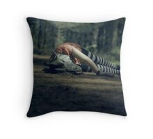 Of Fairy Tales and Obscure Dreams Throw Pillow