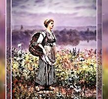 the flower girl by cynthiab