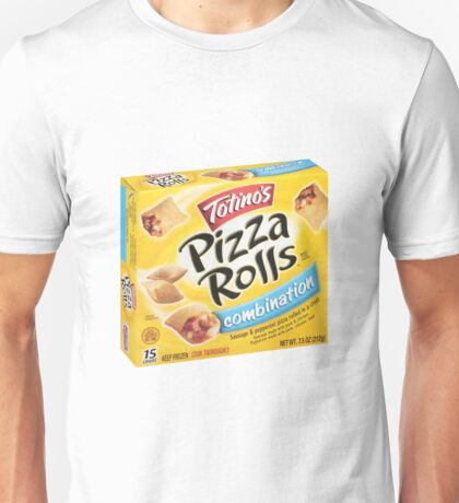 pizza rolls Unisex T-Shirt