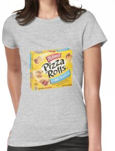 pizza rolls Womens Fitted T-Shirt
