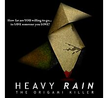 Heavy Rain - The Origami Killer Photographic Print