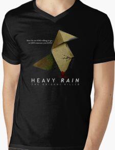 Heavy Rain - The Origami Killer Mens V-Neck T-Shirt