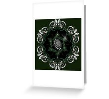 Silver Trumpets Greeting Card
