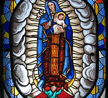 Blue Madonna by brettus