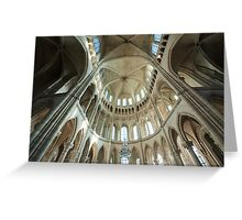 Cathedrale St-Gervais/St-Protais Greeting Card