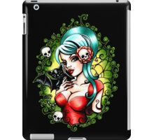 Black Lilly iPad Case/Skin