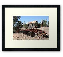 Rustic Accomodation Framed Print